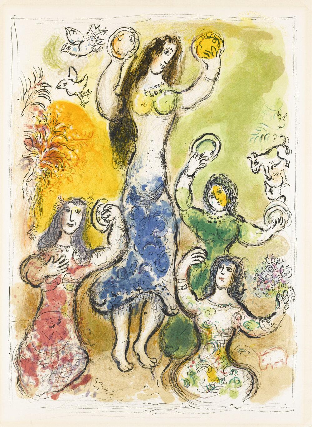 M. Chagall, Miriam.
