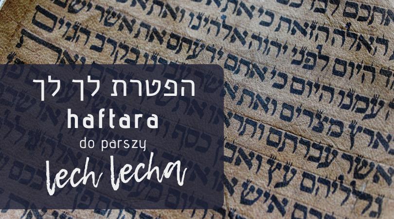 Haftarat Lech Lecha