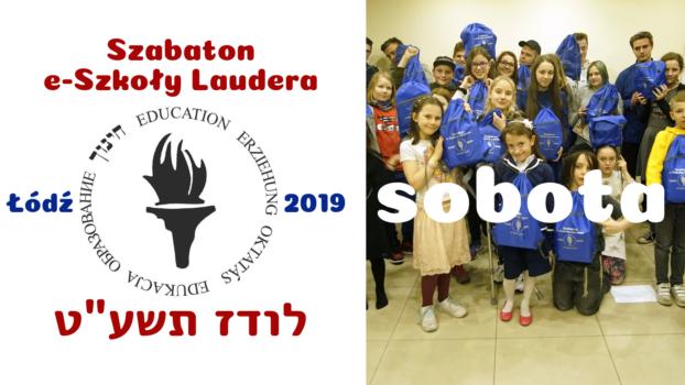 Szabaton e-Szkoły Laudera Łódź 2019-5779: Sobota