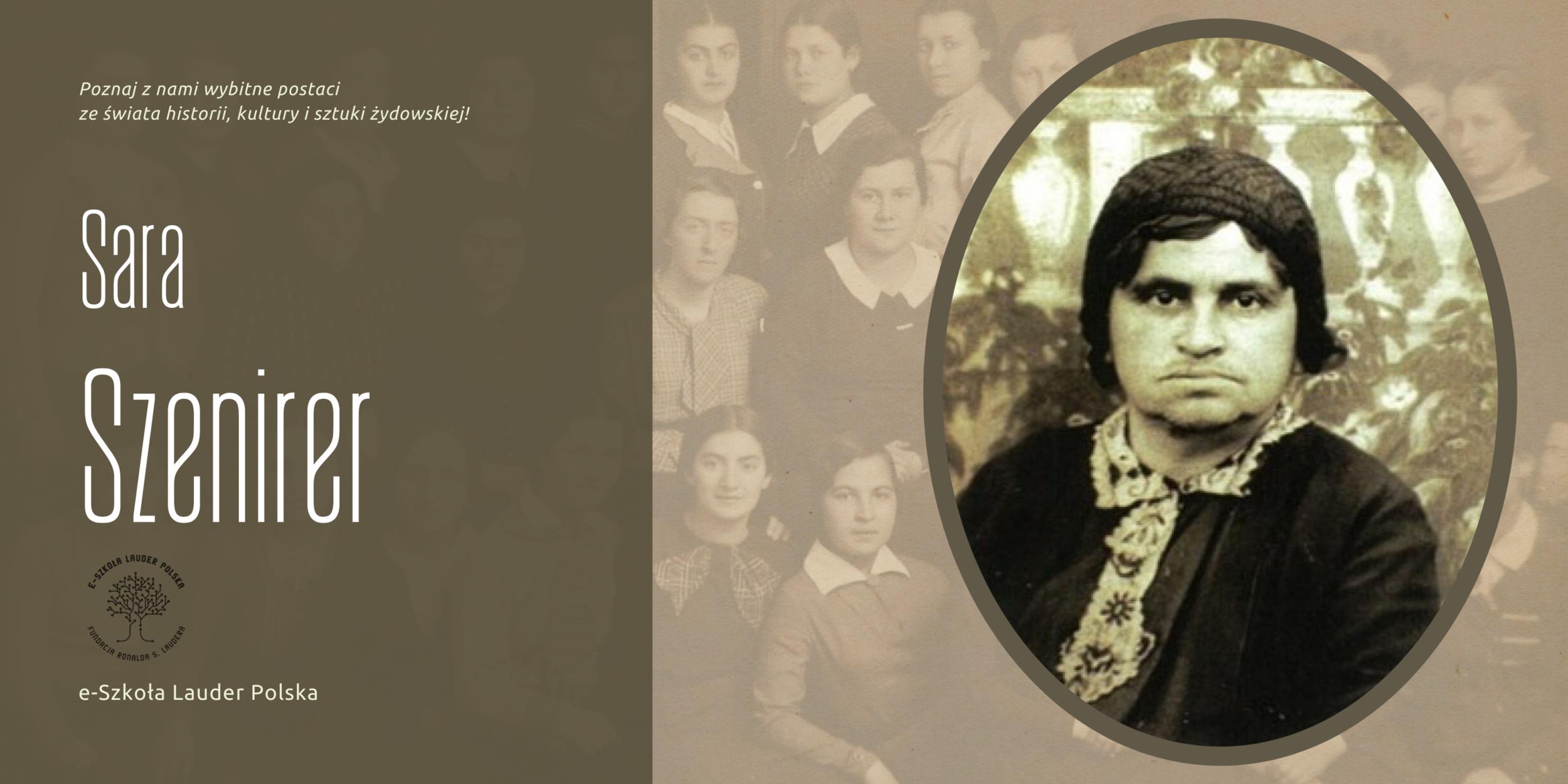 Sara Szenirer – nauczycielka, mentorka i rewolucjonistka